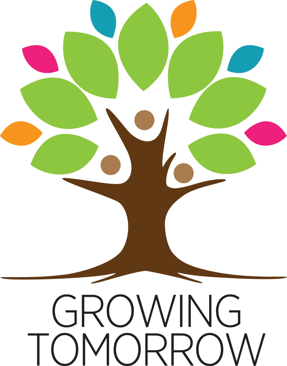 Growing Tomorrow Logo vertical