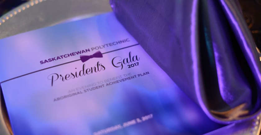 Fine dining, champagne and great entertainment awaits you at the President's Gala